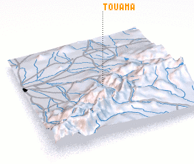 3d view of Touama