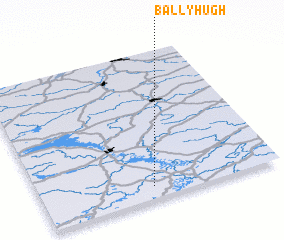 3d view of Ballyhugh
