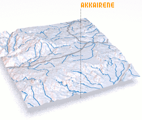 3d view of Akka Irene