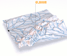 3d view of El Bour