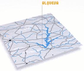 3d view of Alqueva