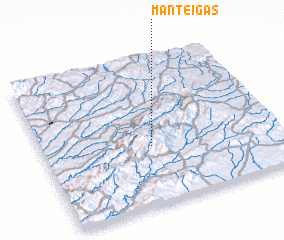 3d view of Manteigas