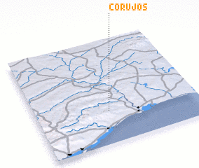 3d view of Corujos