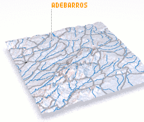 3d view of A de Barros