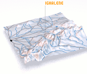 3d view of Ighalene
