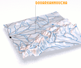 3d view of Douar Kahmoucha