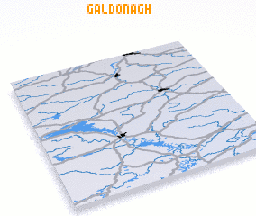 3d view of Galdonagh