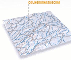 3d view of Colherinhas de Cima
