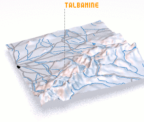 3d view of Talbamine