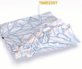 3d view of Tahrzout