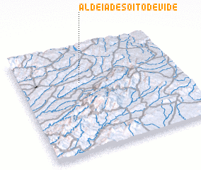 3d view of Aldeia de Soito de Vide