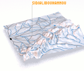 3d view of Sidi Ali Bou Hammou