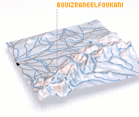 3d view of Bouizrane el Foukani