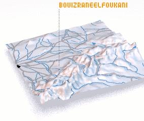 3d view of Bouizrane el Foukani