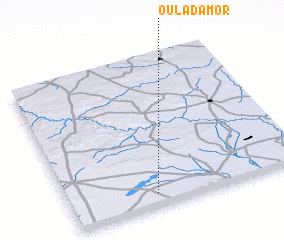 3d view of Oulad Amor