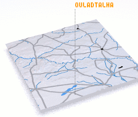 3d view of Oulad Talha