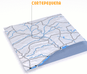 3d view of Corte Pequena