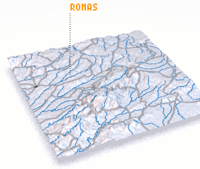 3d view of Romãs