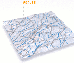 3d view of Forles