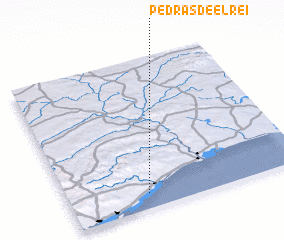 3d view of Pedras de El-Rei