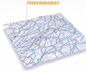 3d view of Ferreira de Aves