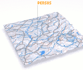 3d view of Pensos
