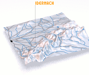 3d view of Idermach