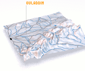 3d view of Oulad Dim