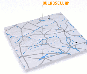 3d view of Oulad Sellam