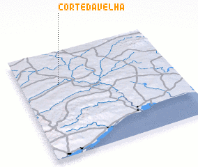 3d view of Corte da Velha
