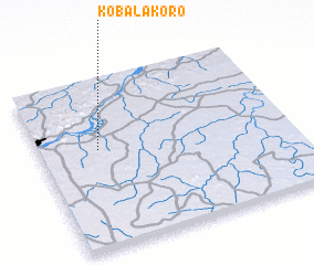 3d view of Kobalakoro