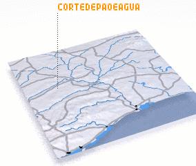 3d view of Corte de Pão e Água