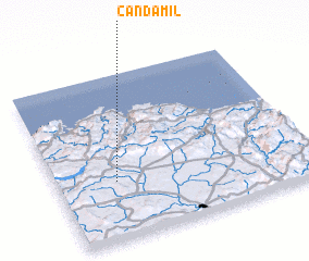3d view of Candamil