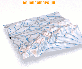 3d view of Douar Caïd Brahim
