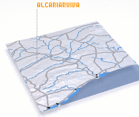 3d view of Alcaria Ruiva