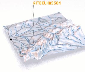 3d view of Aït Belkassem