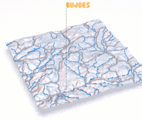 3d view of Bujões