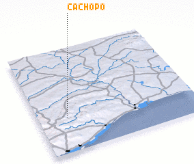 3d view of Cachopo