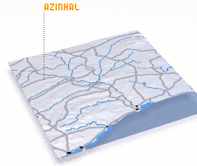 3d view of Azinhal