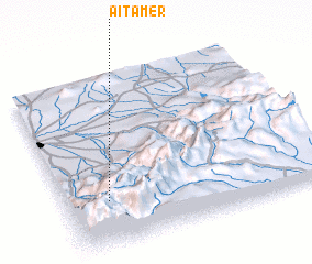 3d view of Aït Amer
