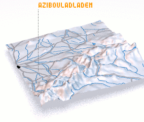 3d view of Azib Oulad Lâdem