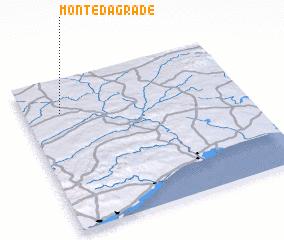 3d view of Monte da Grade