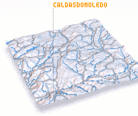 3d view of Caldas do Moledo
