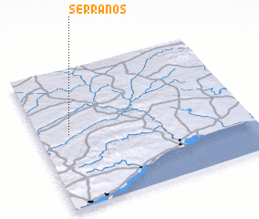 3d view of Serranos