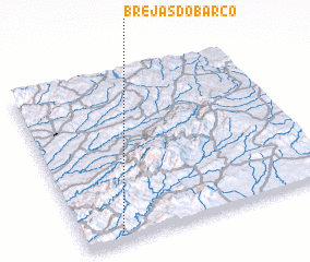 3d view of Brejas do Barco