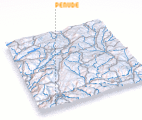 3d view of Penude