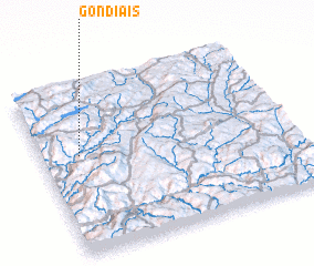 3d view of Gondiãis
