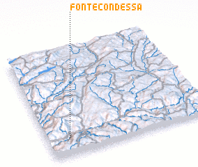 3d view of Fonte Condessa