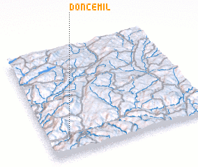 3d view of Doncemil