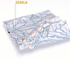 3d view of Gzoula